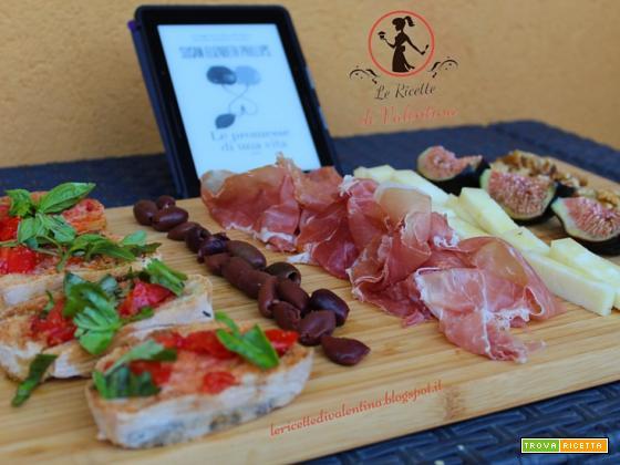 MANGIA CIO' CHE LEGGI  77: Tagliere Toscano ispirato dalla romantica storia di Susan Elizabeth Phillips Le promesse di una vita