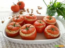 Pomodori veggie ripieni con sorpresa