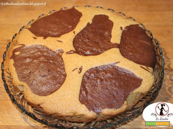 Torta Mucca con farina di grano saraceno senza latticini