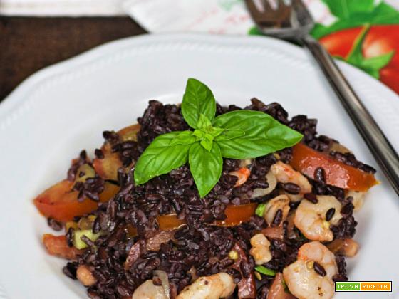 Insalata di riso venere integrale