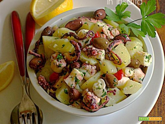 Polpo e patate in insalata - ricetta veloce