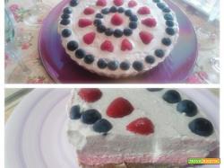 Tre Sfumature di Cheesecake di Gloria KitchenUSA