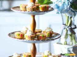 Mini Cupcakes al mojito analcolico