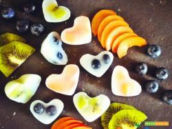 Mini ghiaccioli a base di latte di Riso-Cocco e frutta fresca!