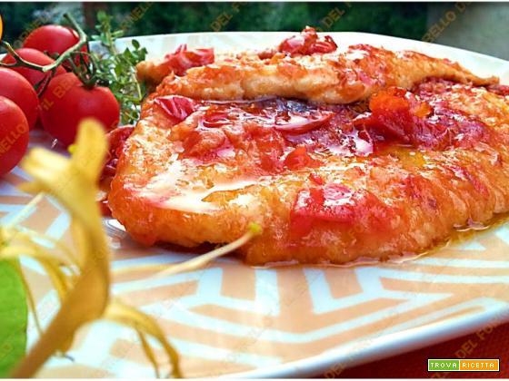 Petto di pollo alla finta pizzaiola