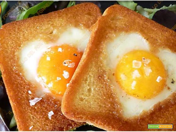 Pancarrè con cuore di uova