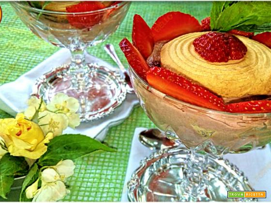 Dessert al cucchiaio ricotta e mascarpone