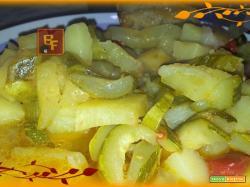 Zuppa di patate e zucchine