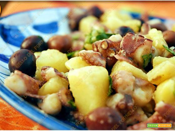Polpo con patate ed olive