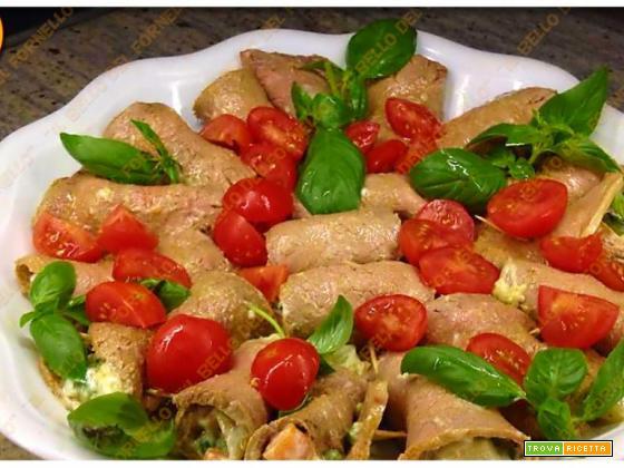 Involtini di rosbif con insalata russa