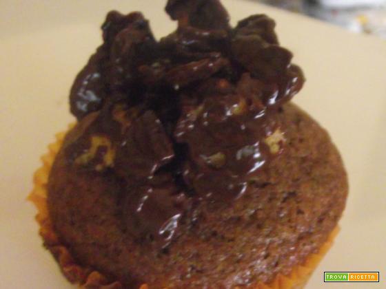 Il muffin al cioccolato croccante e il volo d'angelo