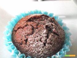 I Muffins con solo tre ingredienti