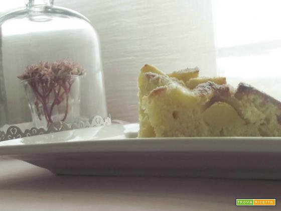 La Torta di mele e olio al limone-con la fine del mondo