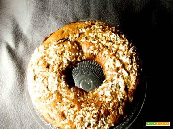 Ciambellone rustico al grano saraceno e di pipponi post quaresimali