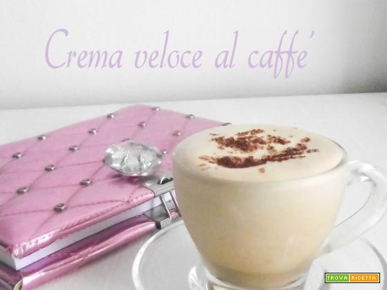 Crema fredda al caffè in due minuti e imparate queste regole per essere perfette ^_^