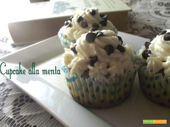 I Cupcakes alla menta di Giulia