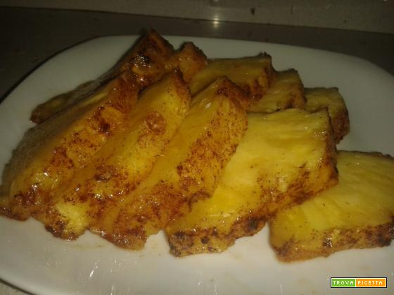 Ananas alla brace