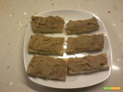 Crostini toscani (patè di fegatini)