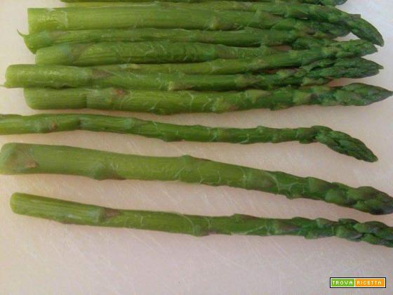 Pasta alla carbonara di asparagi tartufata