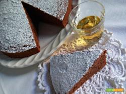 Torta al cioccolato e whisky (leggermente alcolica)