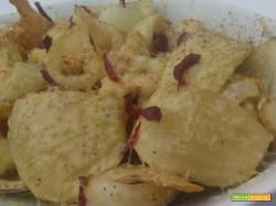 Verdure al forno affumicate al formaggio
