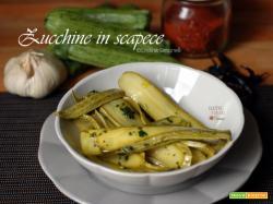 Zucchine alla scapece in un solo passaggio, ricetta semplice