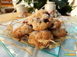 Biscotti alle ciliegie e cocco