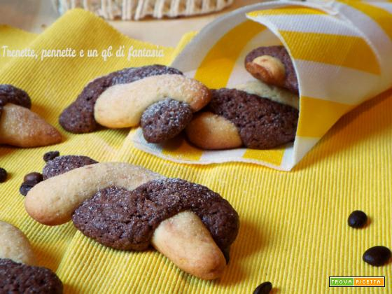 Biscotti Intrecciati al caffè e vaniglia