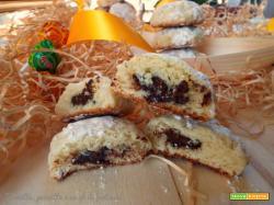 Biscotti morbidi al profumo d'arancio e cioccolato
