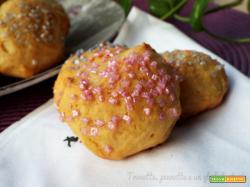 Biscotti morbidissimi con ricotta e carota