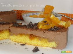Cheese-cake cioccolato e arancia