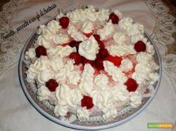Cheesecake di ricotta e fragole