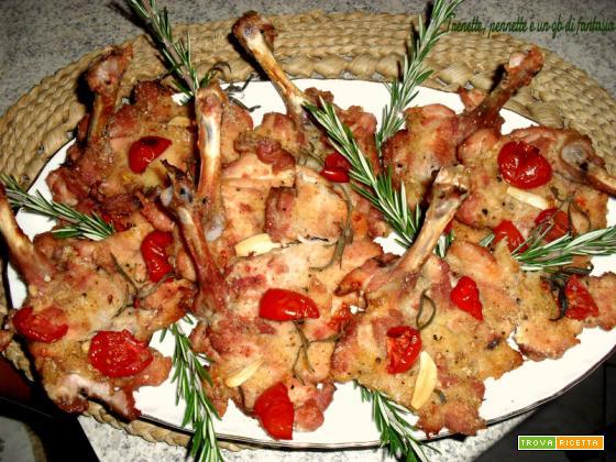 Cotolette di pollo agli aromi