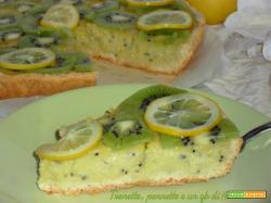 Crostata cremosa al kiwi e limoncello