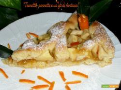 Crostata di marmellata di arance amare e mele