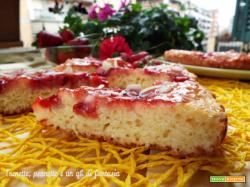 Crostata morbida con fragole