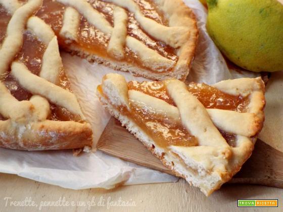 Crostata morbida di limone...con albume