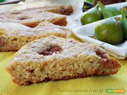 Crostata morbida ricotta e fichi