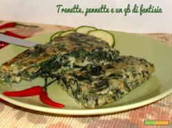 Frittata con zucchine e puntarelle piccante