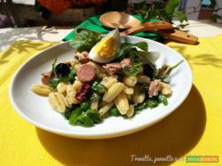 Gnocchetti in insalata profumati al limone e pesto