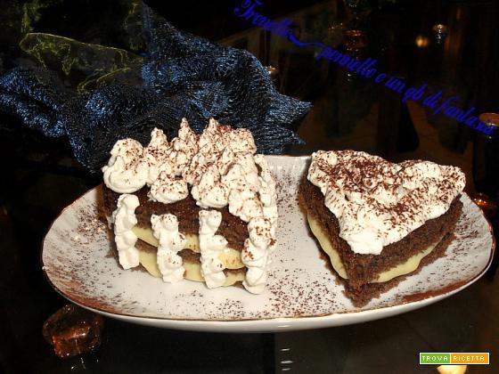 HEART-CAKE AL PROFUMO DI CAFFE'