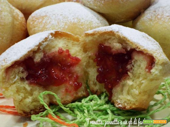 Krapfen-cupcake