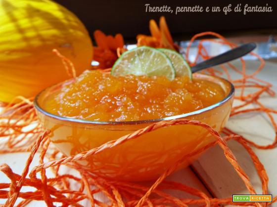 Marmellata di melone e lime