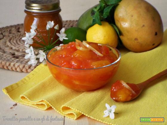 Marmellata esotica...mango e papaya