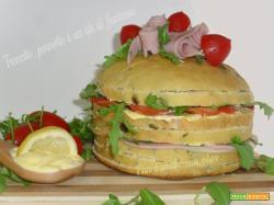 Mini pan brioche con olive