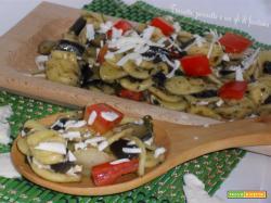 Orecchiette con melanzane e ricotta salata