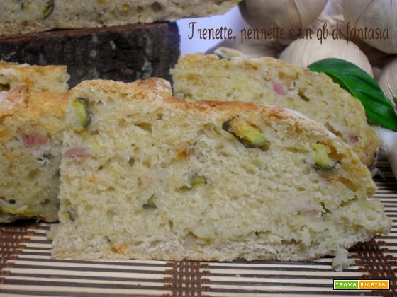 Pane zucchine e pancetta