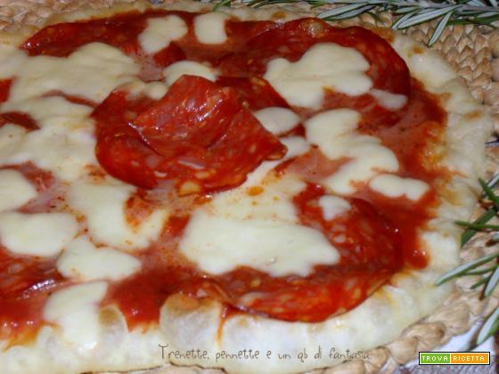 Pizza in padella alla diavola
