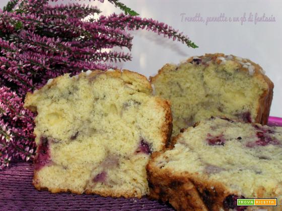 Plum cake morbido ricotta e more