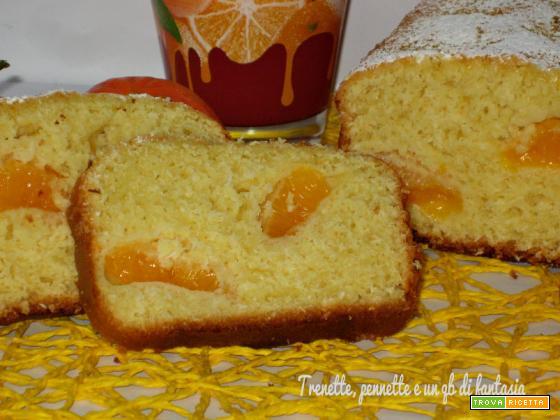 Plumcake cocco e mandarino